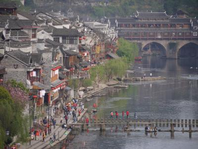 Old downtown of Fenghuang