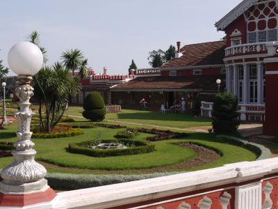Fernhill, the Maharaja's summer palace and hotel