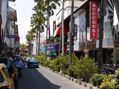 Downtown Kuta on Bali