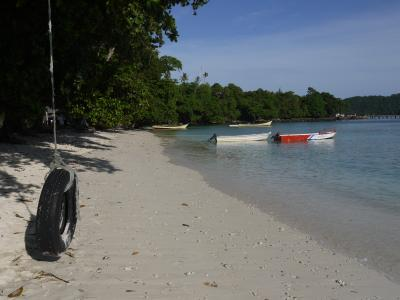 Kabang Beach on Pulau Weh in Sumatra