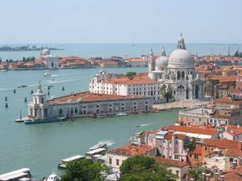 View from the Campanile in Venice