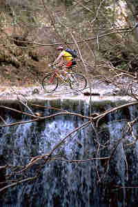riding over a waterfall, 9.8k