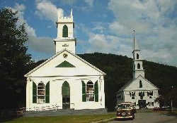 Newfane church