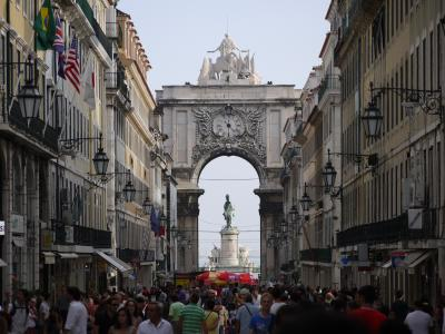Downtown of Lisbon