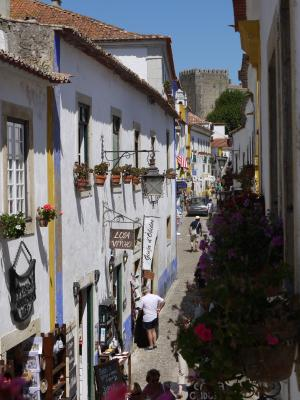 Obidos shopping street